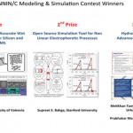 NNIN-C Modelling and Simulation Contest Winners