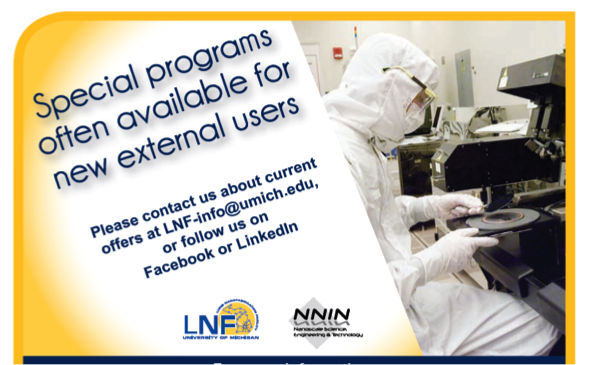Special Programs for New External Users