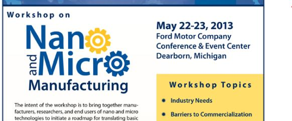 Nano and Micro Workshop