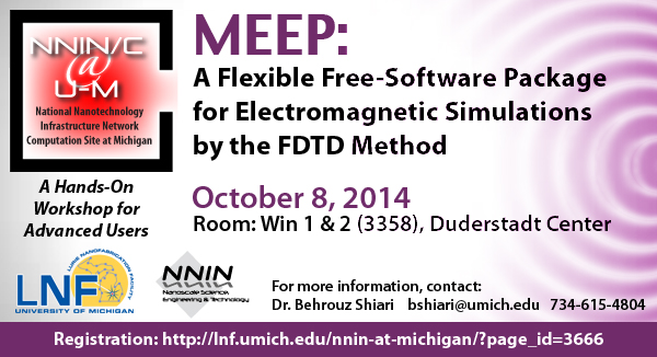 MEEP: A flexible, free-software package for electromagnetic simulations by the FDTD method