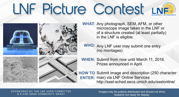2016 LNF Photo Contest