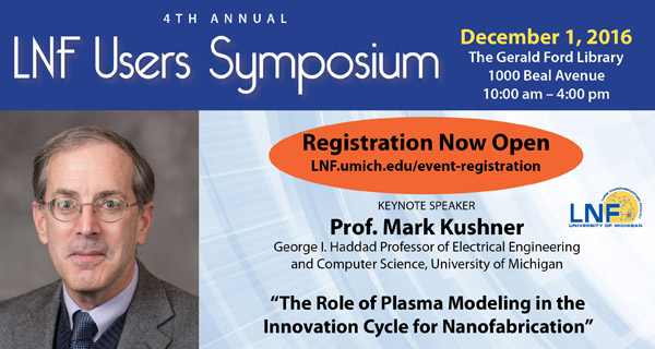 2016 Annual LNF User Symposium, Dec 1st