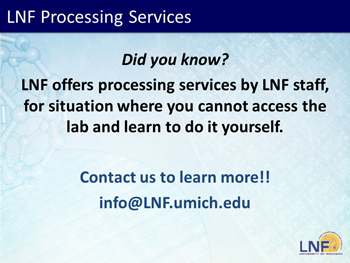 LNF Processing Services