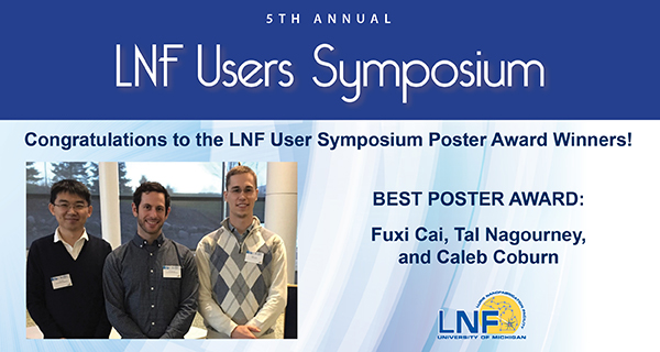 2017-11 LNF Users Symposium Poster Winners